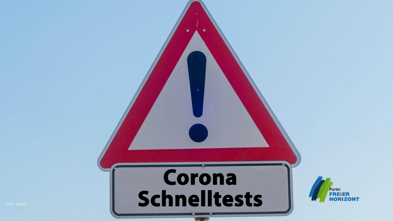 Covid Schnellstest MP Schwesig Freier horizont